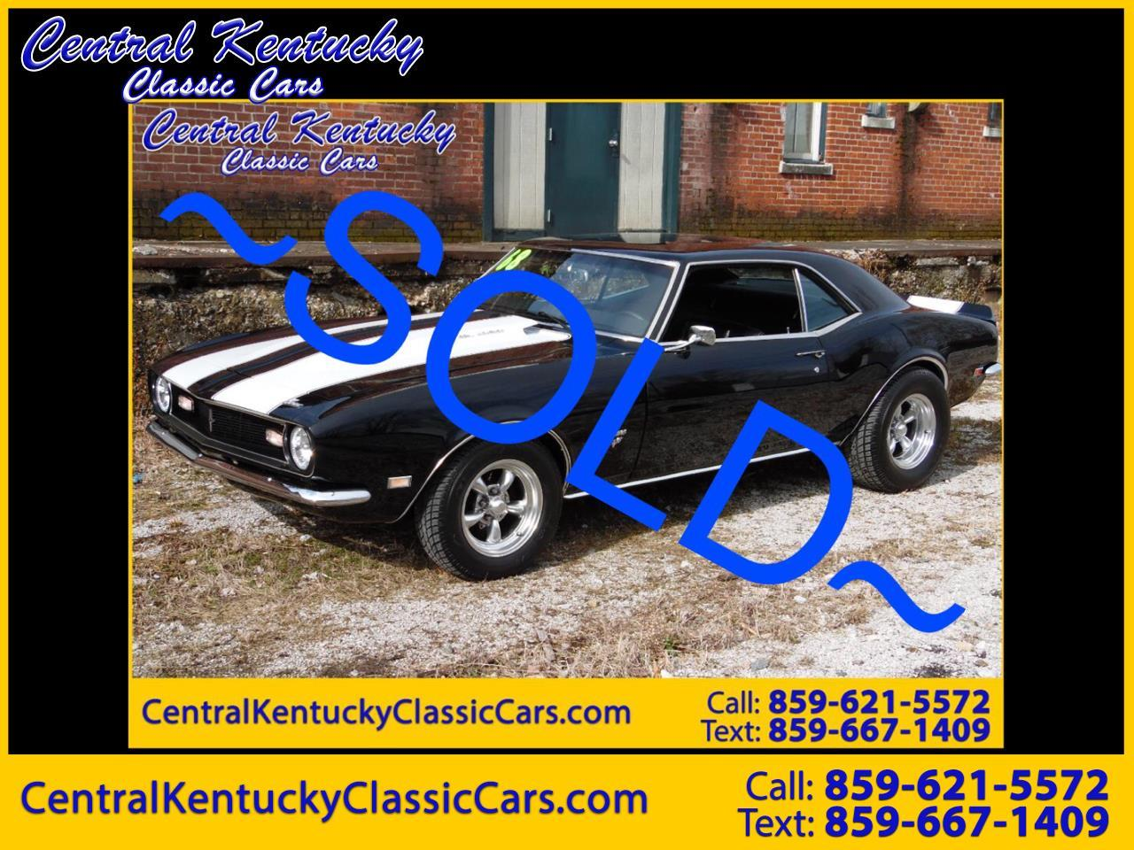 Large Picture of Classic 1968 Chevrolet Camaro located in Kentucky - $49,500.00 - PGQ2