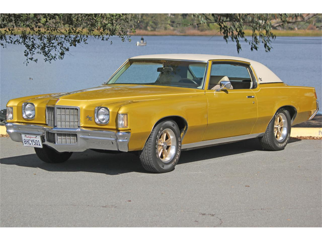 Large Picture of Classic '72 Pontiac Grand Prix located in California Offered by Precious Metals - PGU5