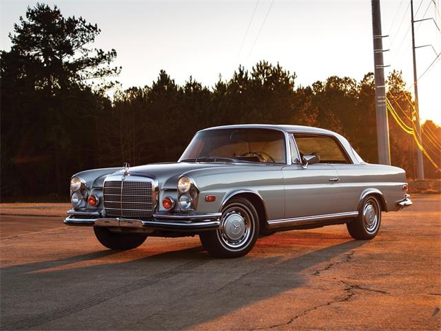 Picture of Classic 1971 Mercedes-Benz 280 SE 35 'Sunroof' Coupe Auction Vehicle Offered by  - PGUK