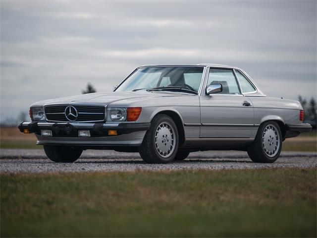 Picture of '89 Mercedes-Benz 560SL Auction Vehicle - PGV1