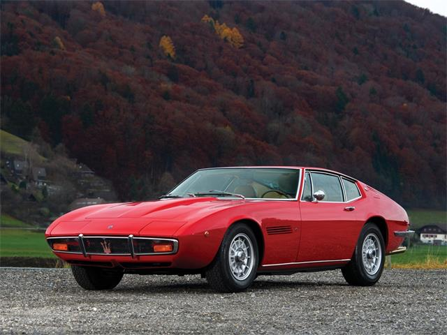Picture of Classic '72 Maserati Ghibli SS 49 Coupe located in Amelia Island Florida Auction Vehicle - PGVE
