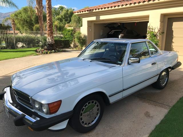 Picture of '89 MERCEDES BENZ 560 SL ROADSTER located in Palm Springs California Auction Vehicle - PB4R