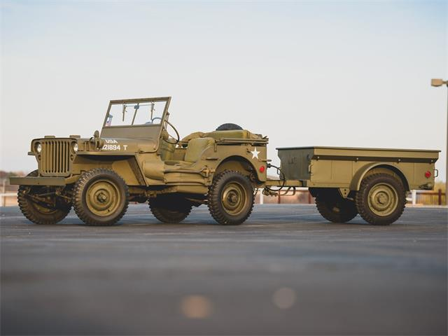 Picture of 1942 Willys MB Jeep & Trailer Auction Vehicle Offered by  - PGVL