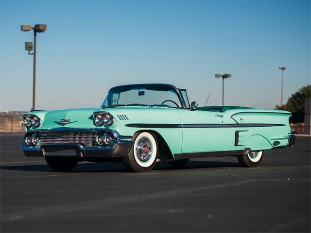 1958 Chevrolet Impala 'Tri-Power' Convertible