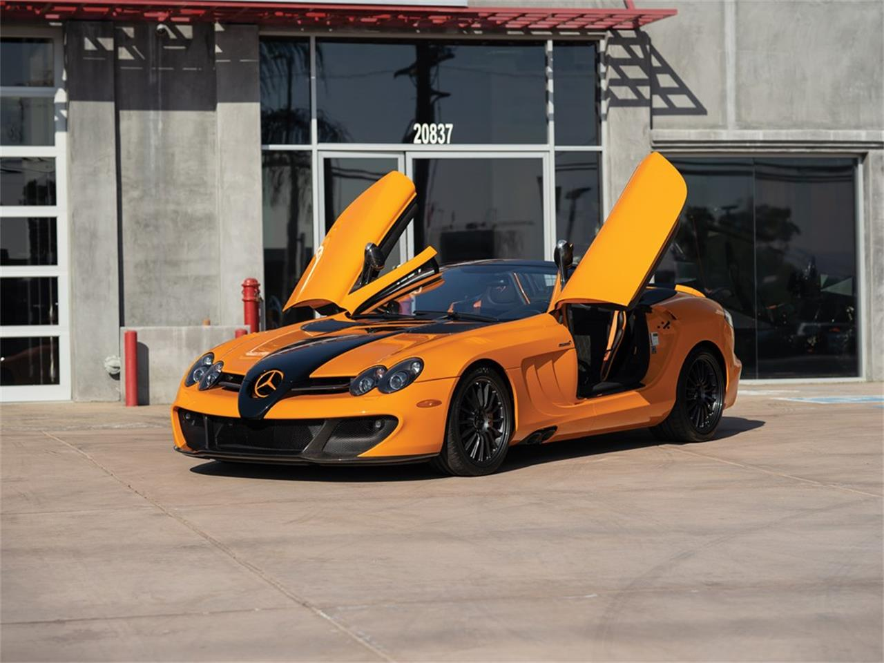 f2f3e25f08bfc Large Picture of  09 Mercedes-Benz SLR McLaren 722 S Roadster  McLaren  Edition
