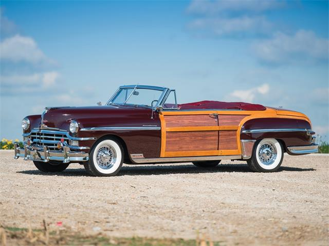 Picture of '49 Chrysler Town and Country Convertible Auction Vehicle - PGXL