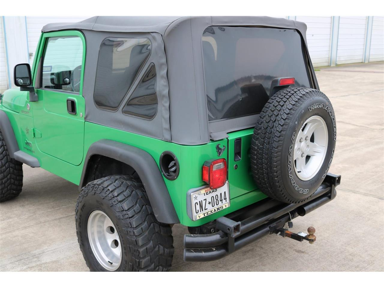 Large Picture of 2005 Jeep Wrangler located in Conroe Texas Offered by Texas Trucks and Classics - PGXZ