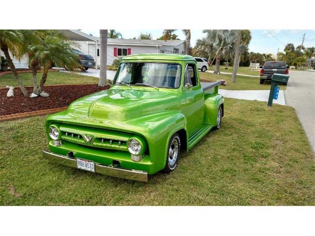 Picture of '53 F100 located in Punta Gorda Florida - PH0B