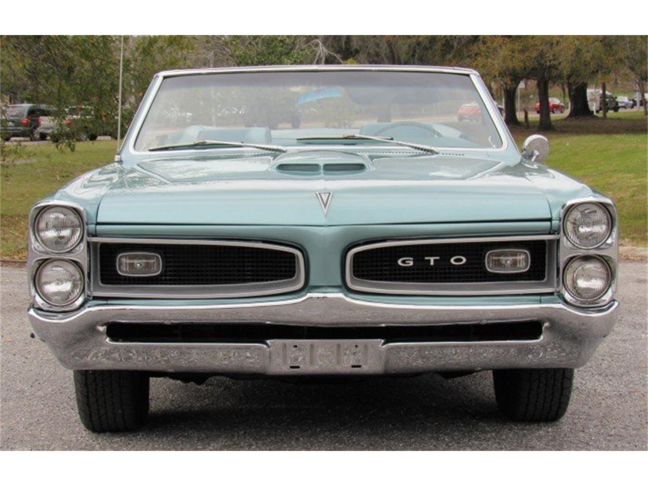 Large Picture of 1966 Pontiac GTO located in Punta Gorda Florida Auction Vehicle - PH0Z