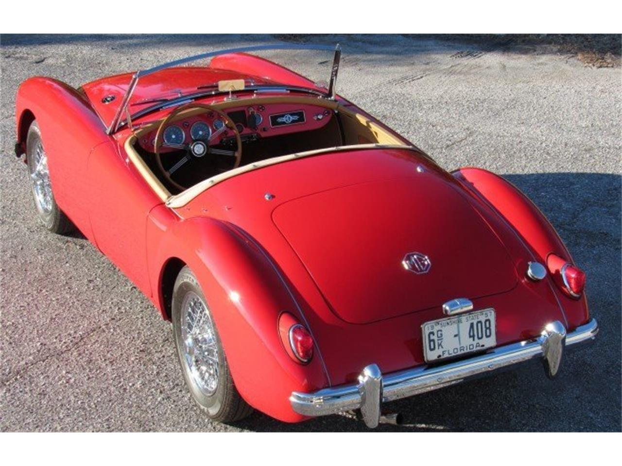 Large Picture of 1957 MG MGA Auction Vehicle Offered by Premier Auction Group - PH10