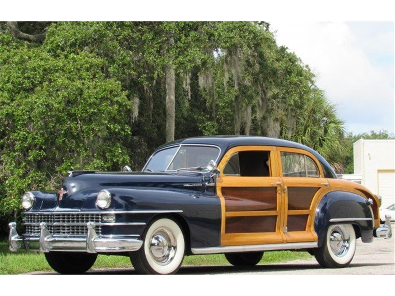 Large Picture of Classic '48 Chrysler Town & Country located in Punta Gorda Florida Auction Vehicle - PH12