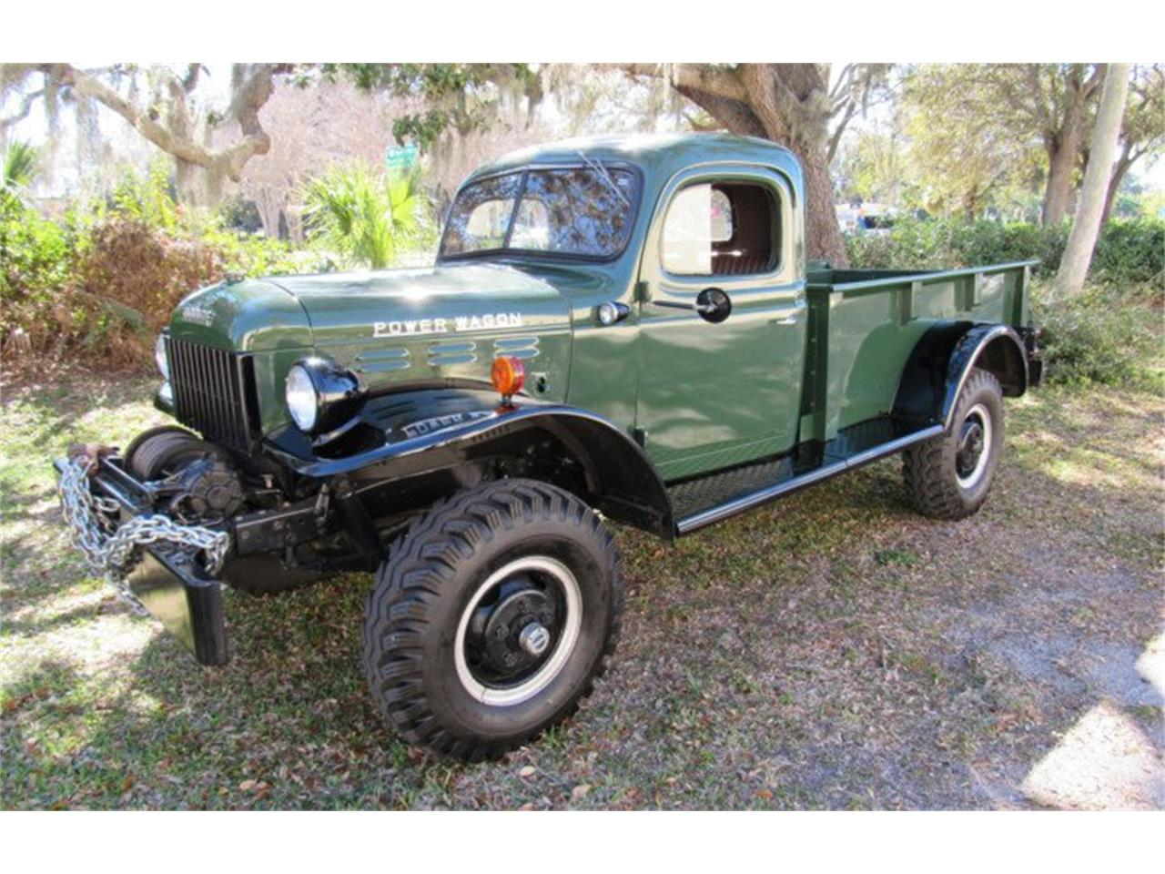 Large Picture of '49 Power Wagon Auction Vehicle Offered by Premier Auction Group - PH13
