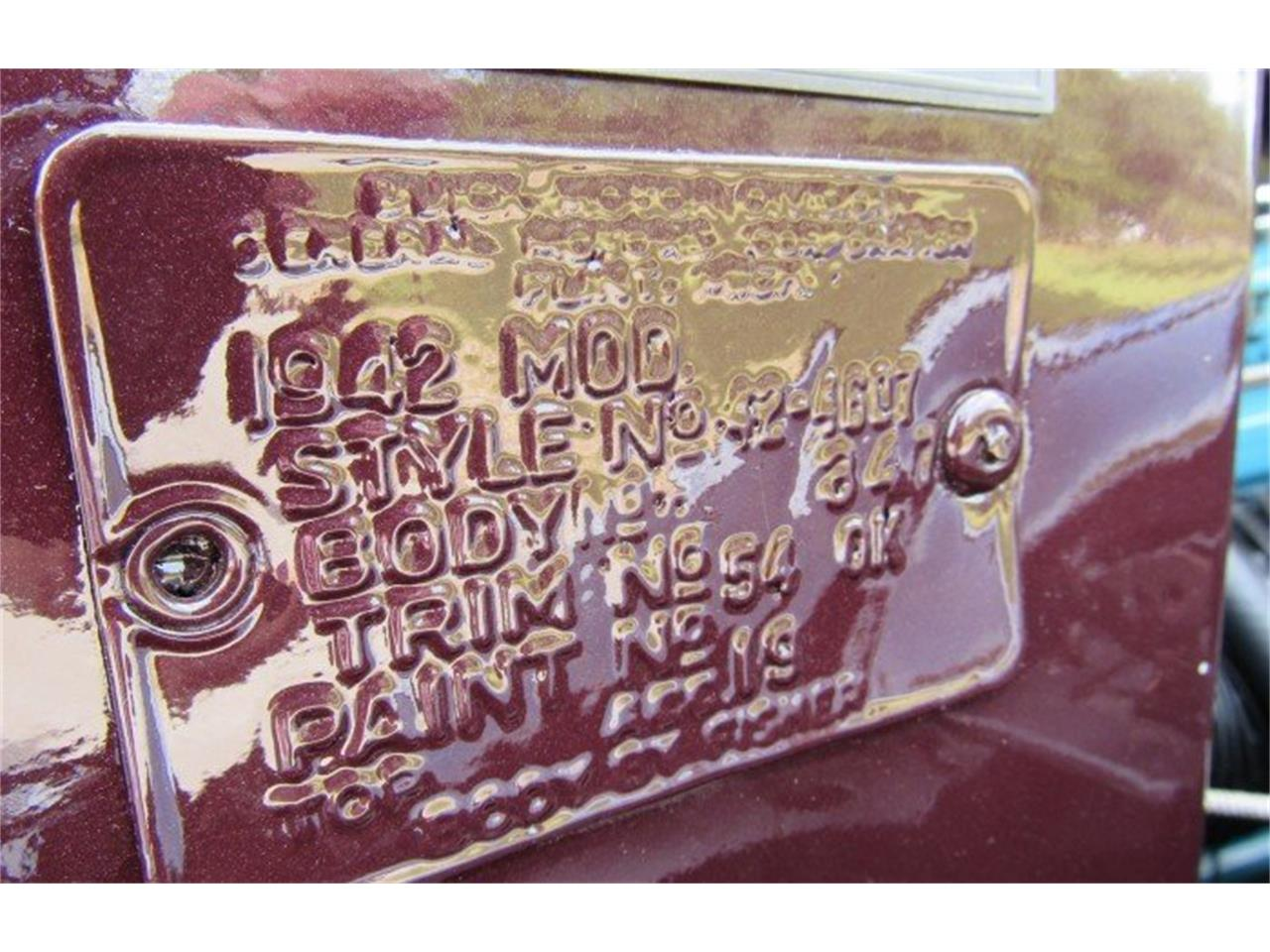 Large Picture of 1942 Buick Century located in Florida Auction Vehicle - PH14