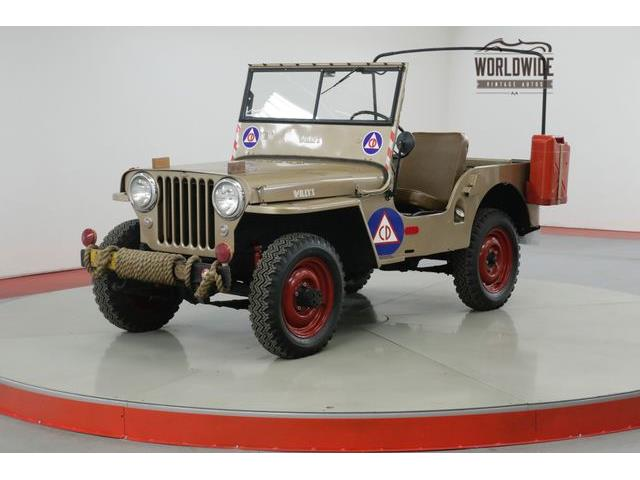 Picture of 1946 CJ2 Offered by  - PH1P