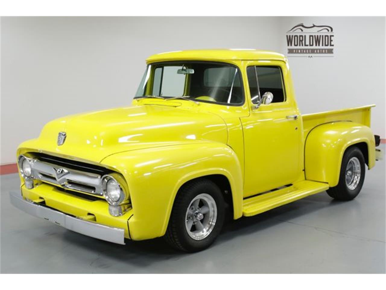 Large Picture of Classic '56 Ford F100 located in Denver  Colorado - $23,900.00 Offered by Worldwide Vintage Autos - PH1T
