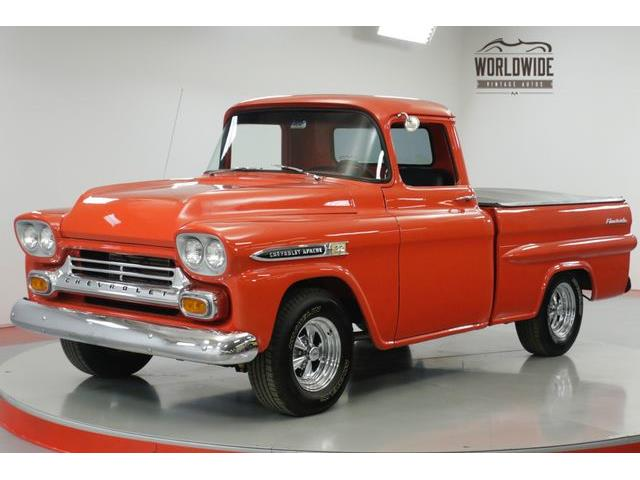 1957 To 1959 Chevrolet Apache For Sale On Classiccars