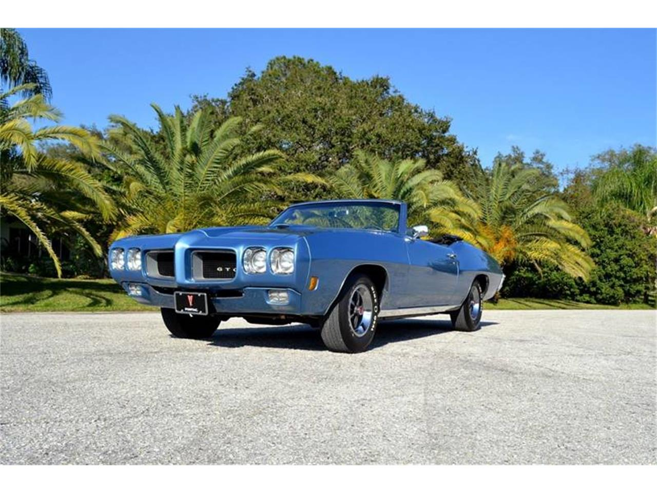 Large Picture of 1970 Pontiac GTO located in Clearwater Florida - $64,900.00 Offered by PJ's Auto World - PH2Q