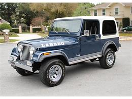 Picture of '81 Jeep CJ7 located in Florida Offered by MJC Classic Cars - PH46