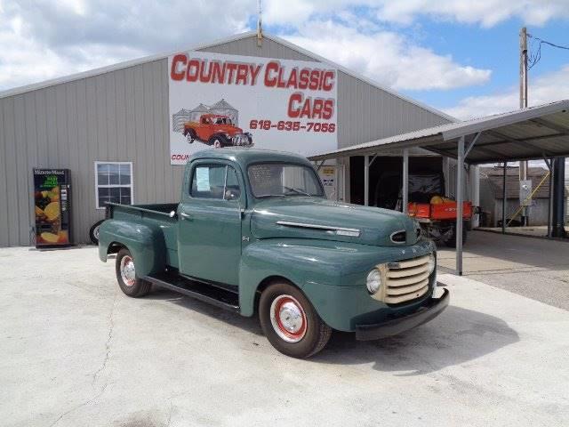 Picture of 1948 F100 located in Staunton Illinois - PH8K