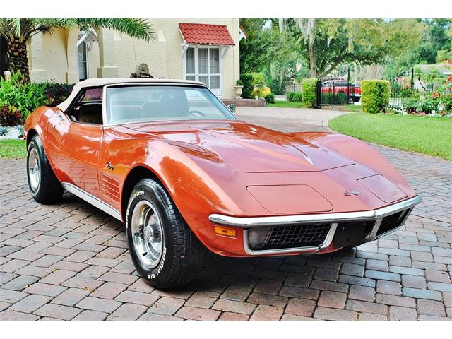 Picture of Classic '70 Chevrolet Corvette located in Lakeland Florida Offered by  - PH9A