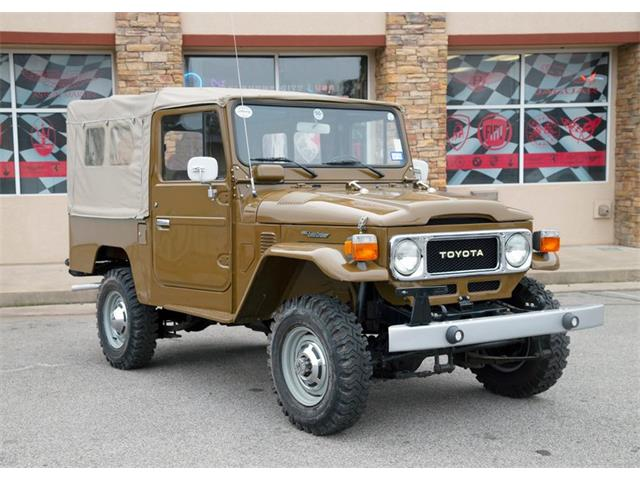 Picture of 1980 Land Cruiser FJ located in Oklahoma - PHKX