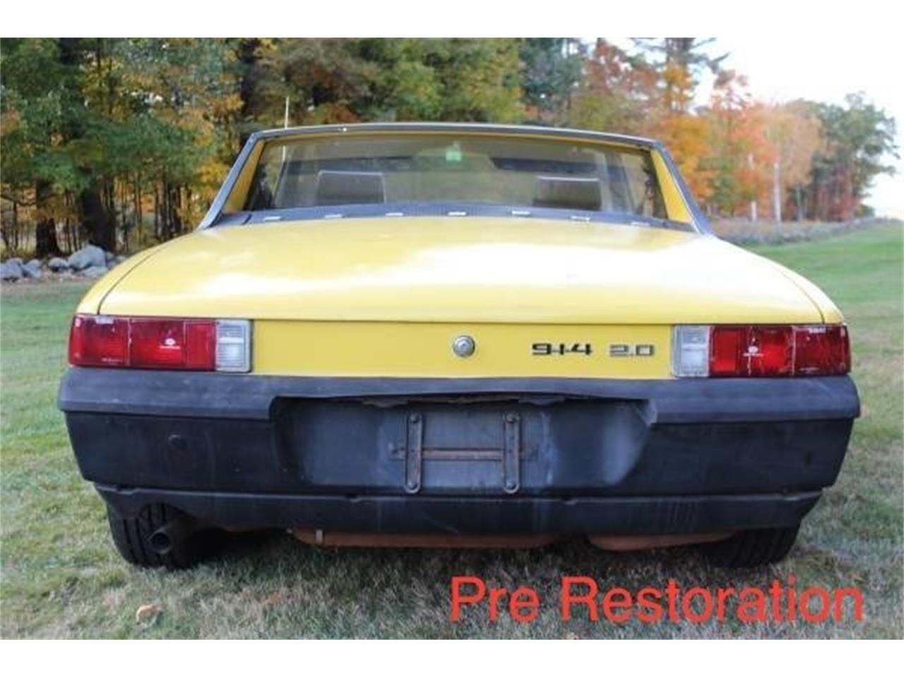 Large Picture of Classic 1973 Porsche 914 located in Beverly Massachusetts - PHSG