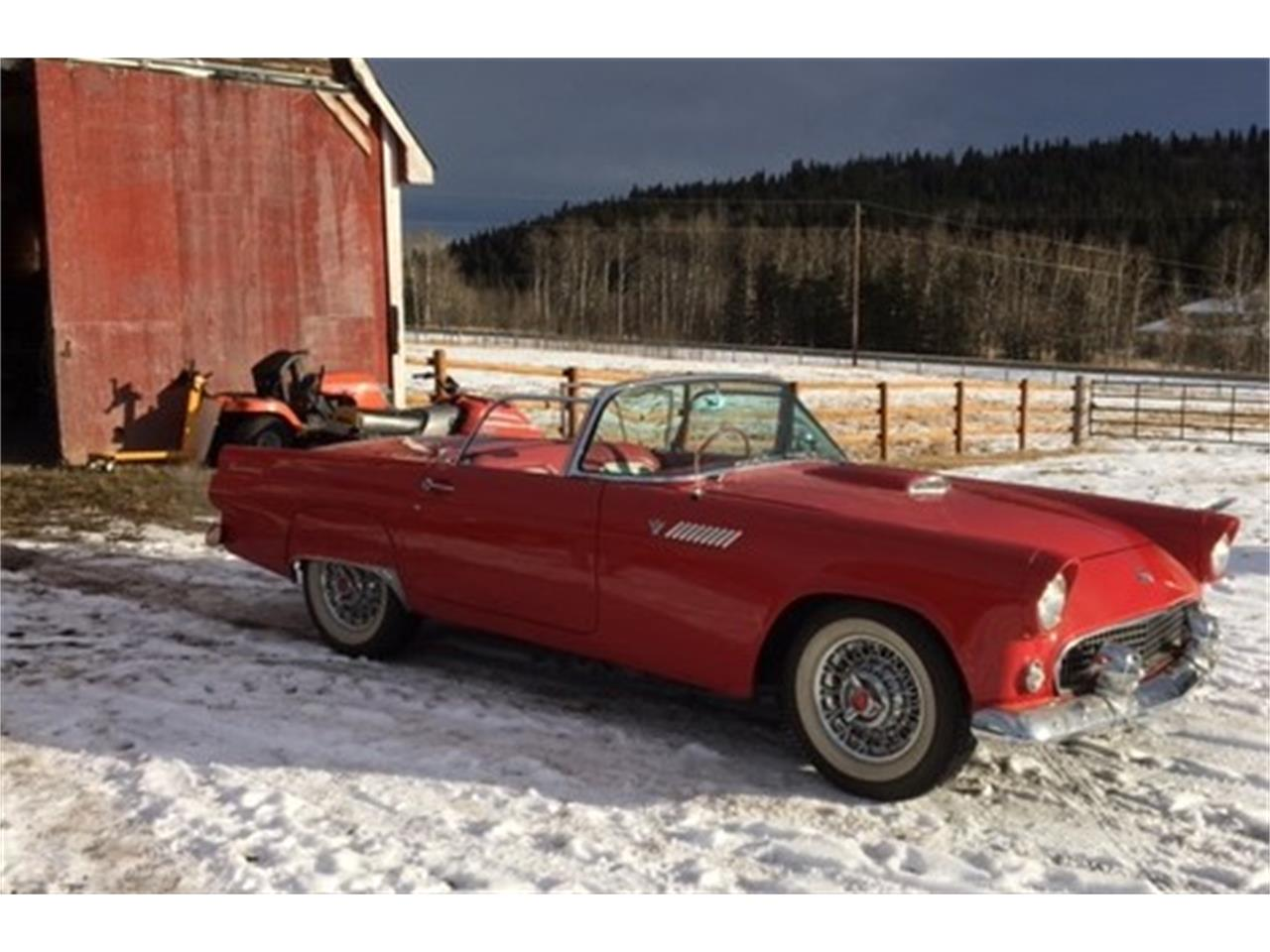 For Sale: 1955 Ford Thunderbird in Millarville, Alberta