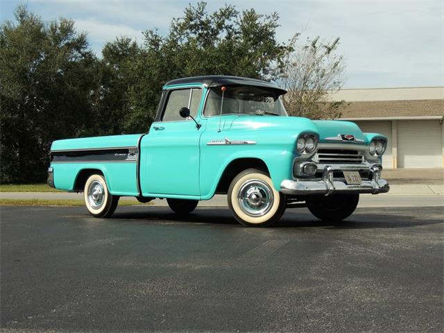 1956 To 1958 Chevrolet Cameo For Sale On Classiccars