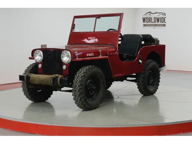 Picture of Classic '47 CJ2 Offered by  - PHUJ