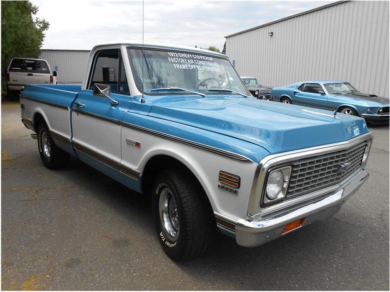 For Sale 1972 Chevrolet Cheyenne In Roseville California
