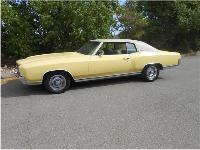 1972 Chevrolet Monte Carlo For Sale On Classiccars Com