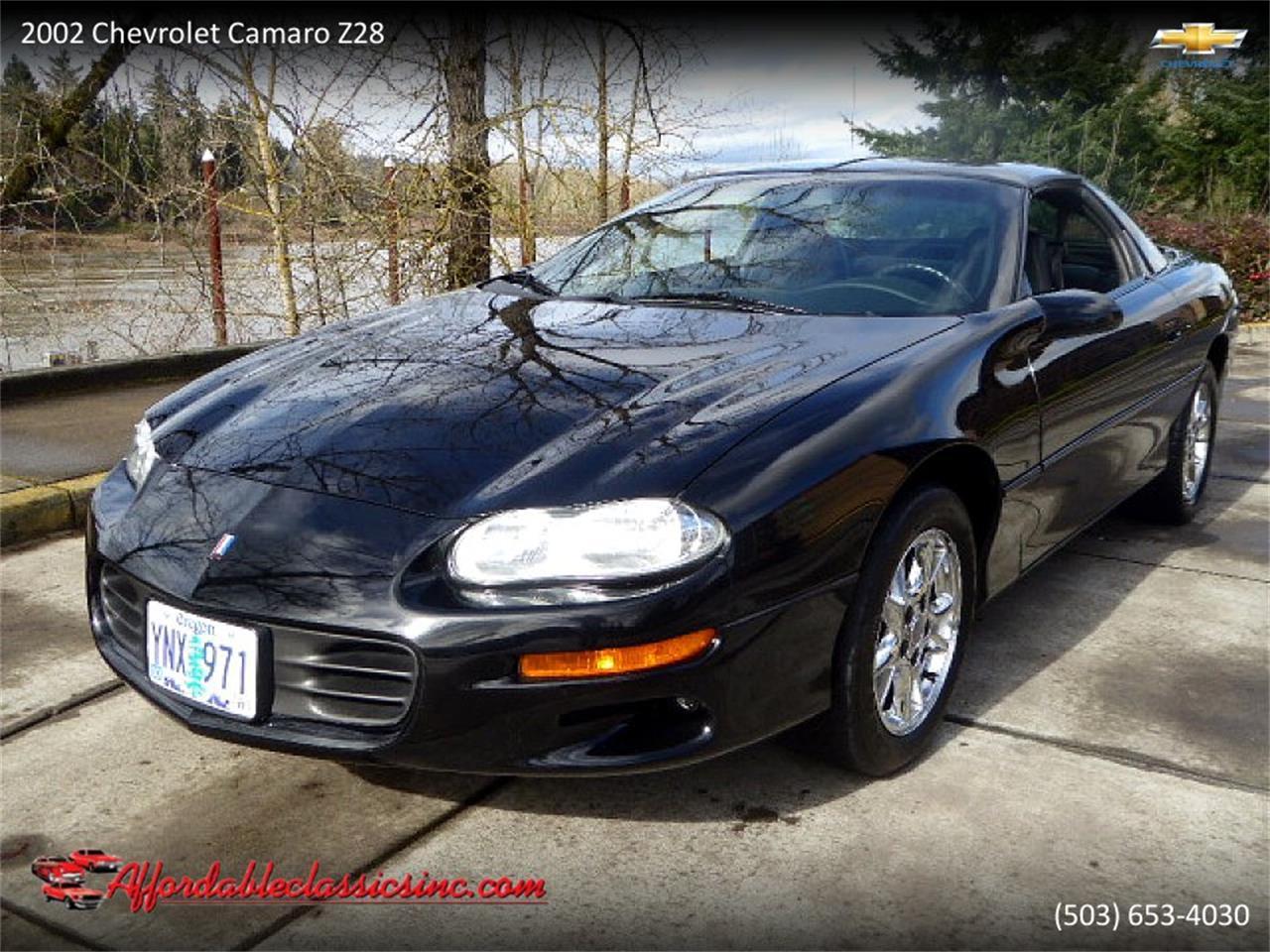 For Sale 2002 Chevrolet Camaro Z28 In Gladstone Oregon