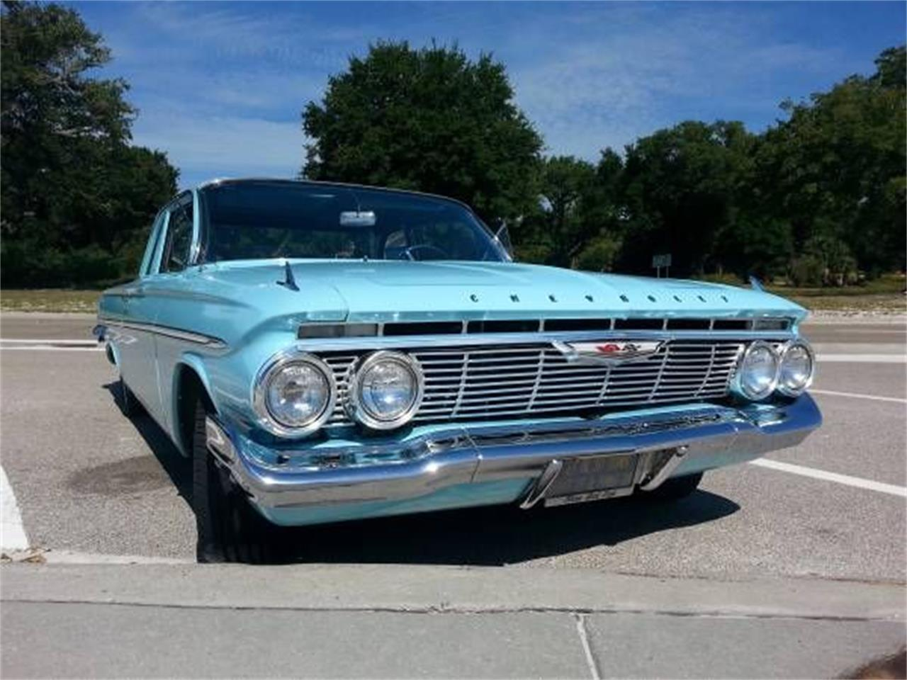 Large Picture of Classic '61 Chevrolet Bel Air located in Michigan - $27,495.00 - PI6K