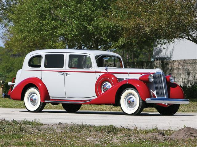 Picture of '37 Super Eight Touring Sedan located in Fort Lauderdale Florida Auction Vehicle - PIZG