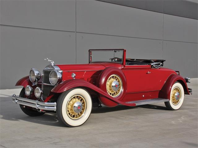 Picture of Classic 1931 Deluxe Eight Convertible Coupe located in Florida Auction Vehicle - PJ0F