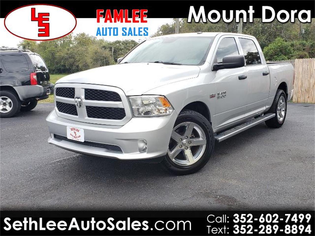 2016 Dodge Ram >> For Sale 2016 Dodge Ram 1500 In Tavares Florida