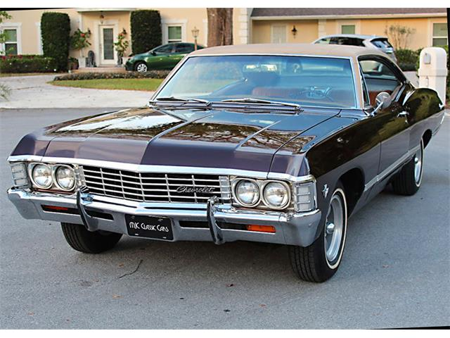 1967 chevrolet impala for sale on. Black Bedroom Furniture Sets. Home Design Ideas