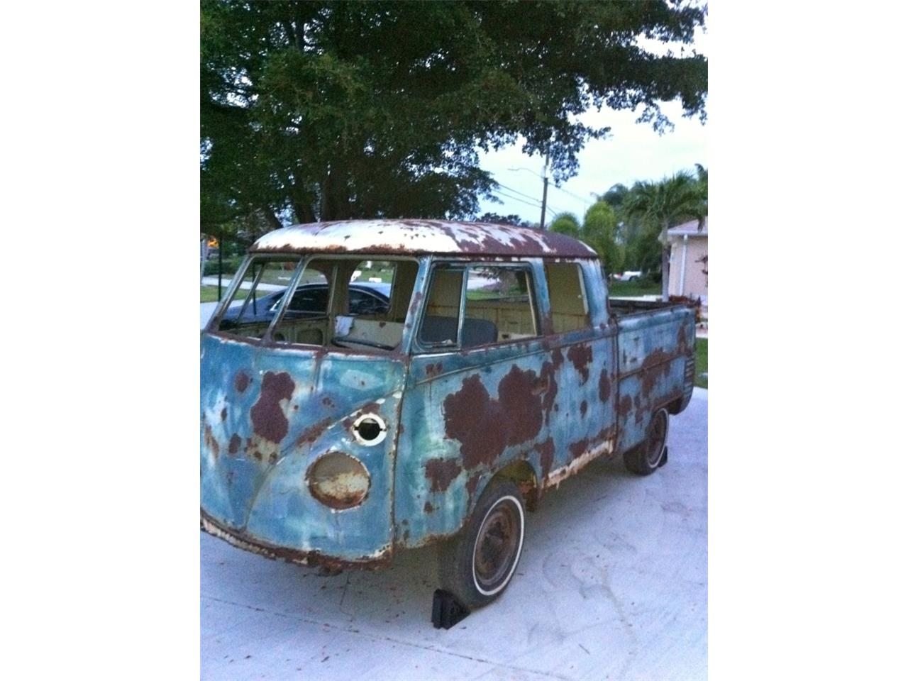 Large Picture of Classic '63 Volkswagen Double Cab located in Ormond Beach Florida - $68,000.00 Offered by a Private Seller - PJFH