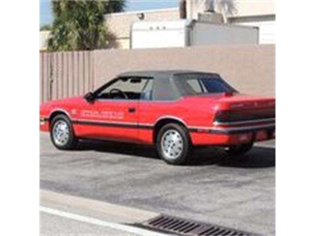 Picture of '87 LeBaron - PJG7