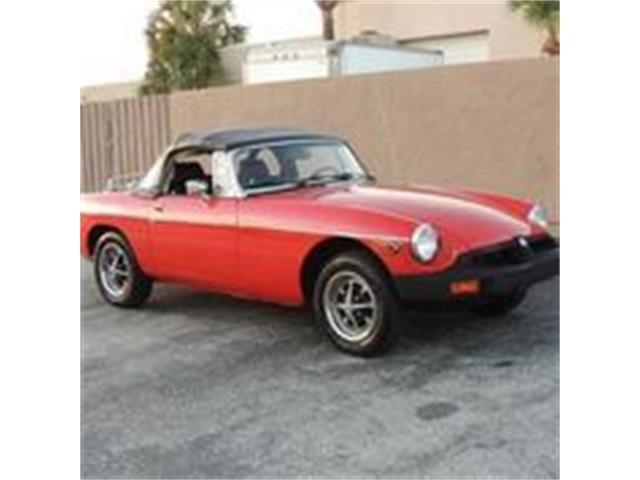 Picture of '77 MGB - PJG9