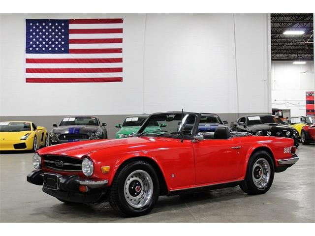 Picture of 1976 Triumph TR6 - $14,900.00 Offered by  - PJHE