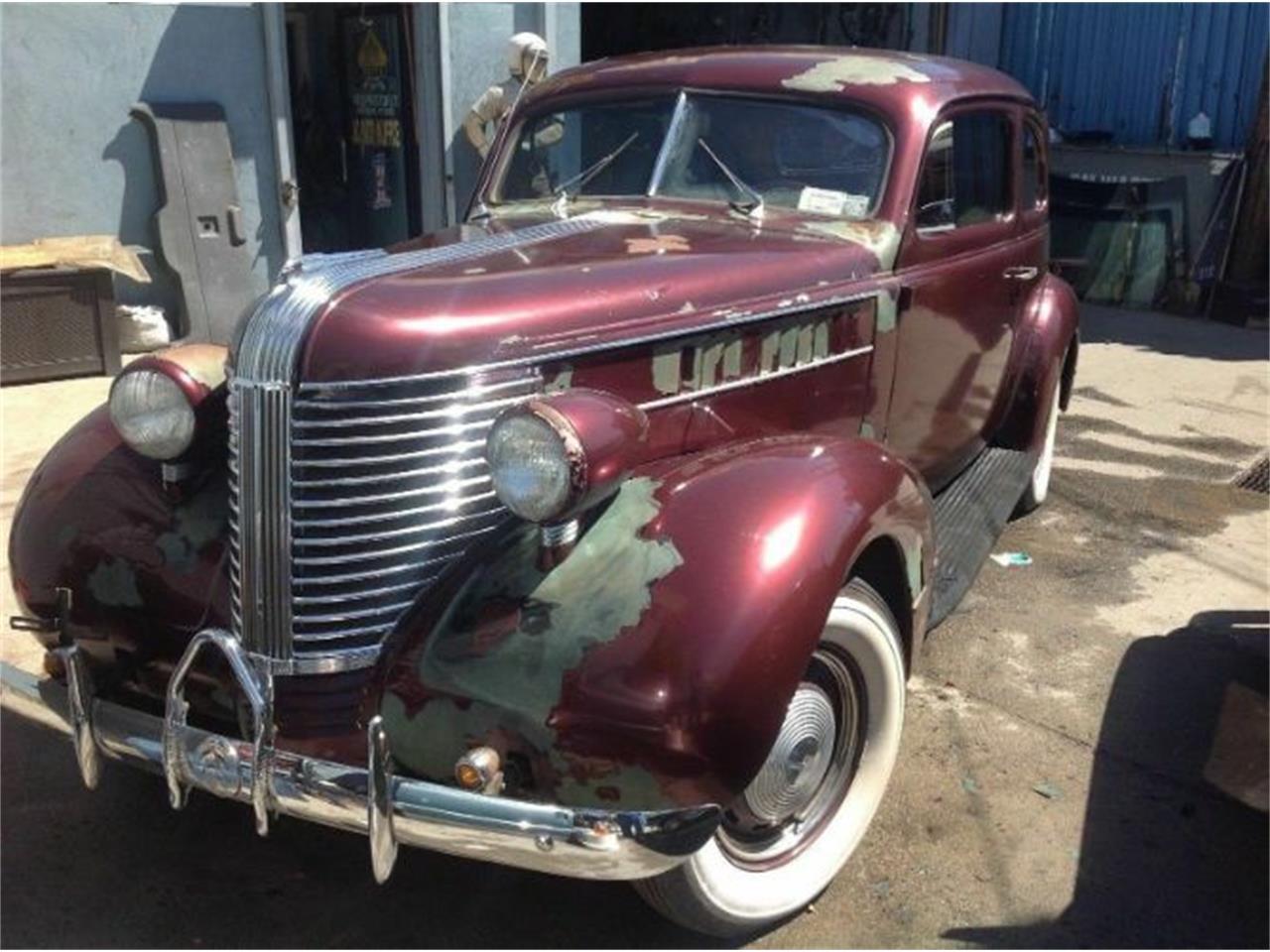 1938 Pontiac Silver Streak For Sale Classiccarscom Cc 1191769