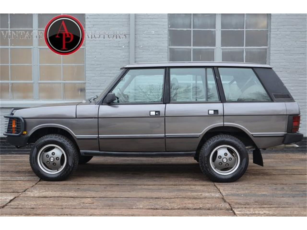 Large Picture Of 90 Range Rover Pjmc