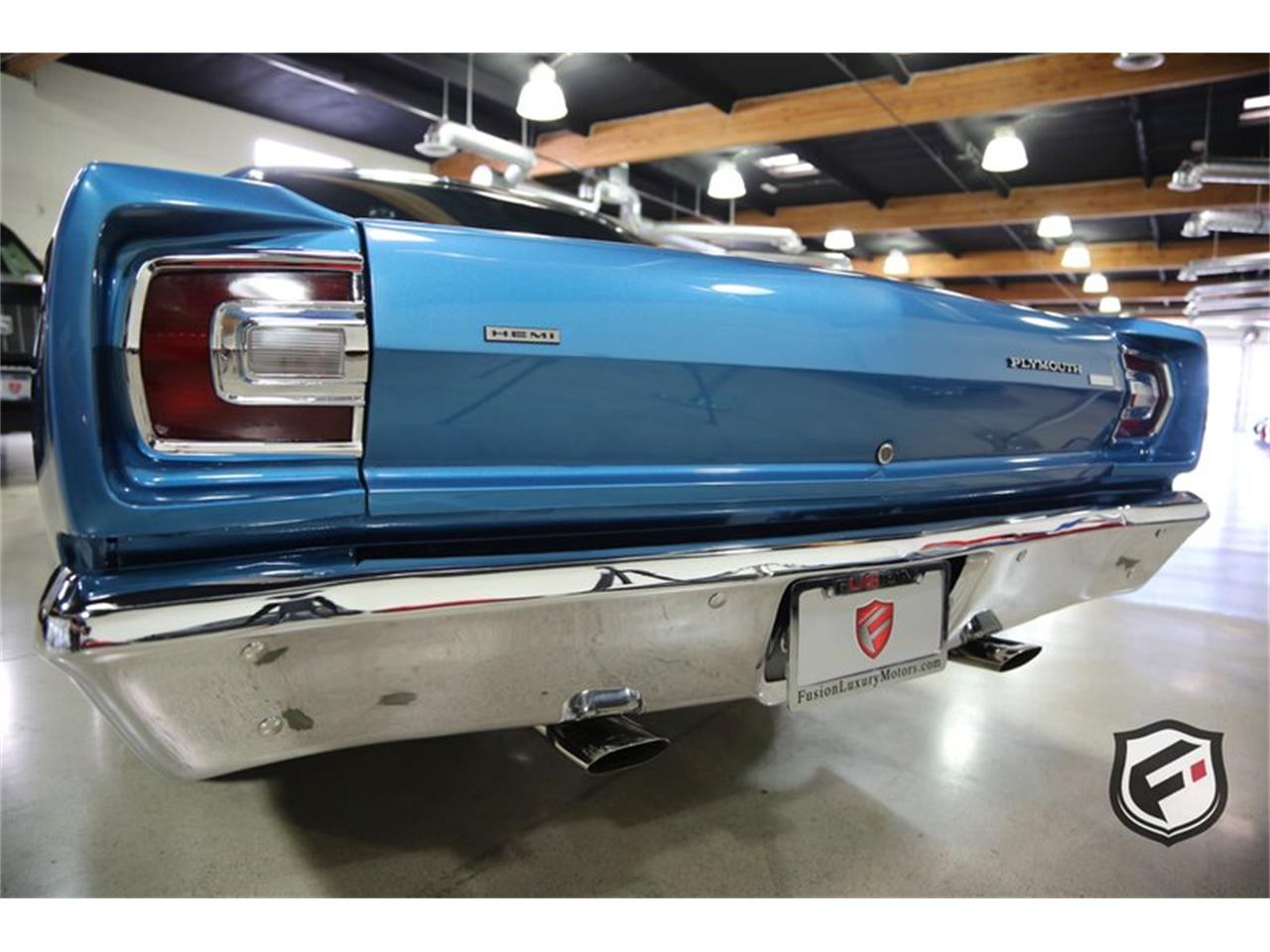 Large Picture of 1968 Plymouth Road Runner located in Chatsworth California Offered by Fusion Luxury Motors - PJRG