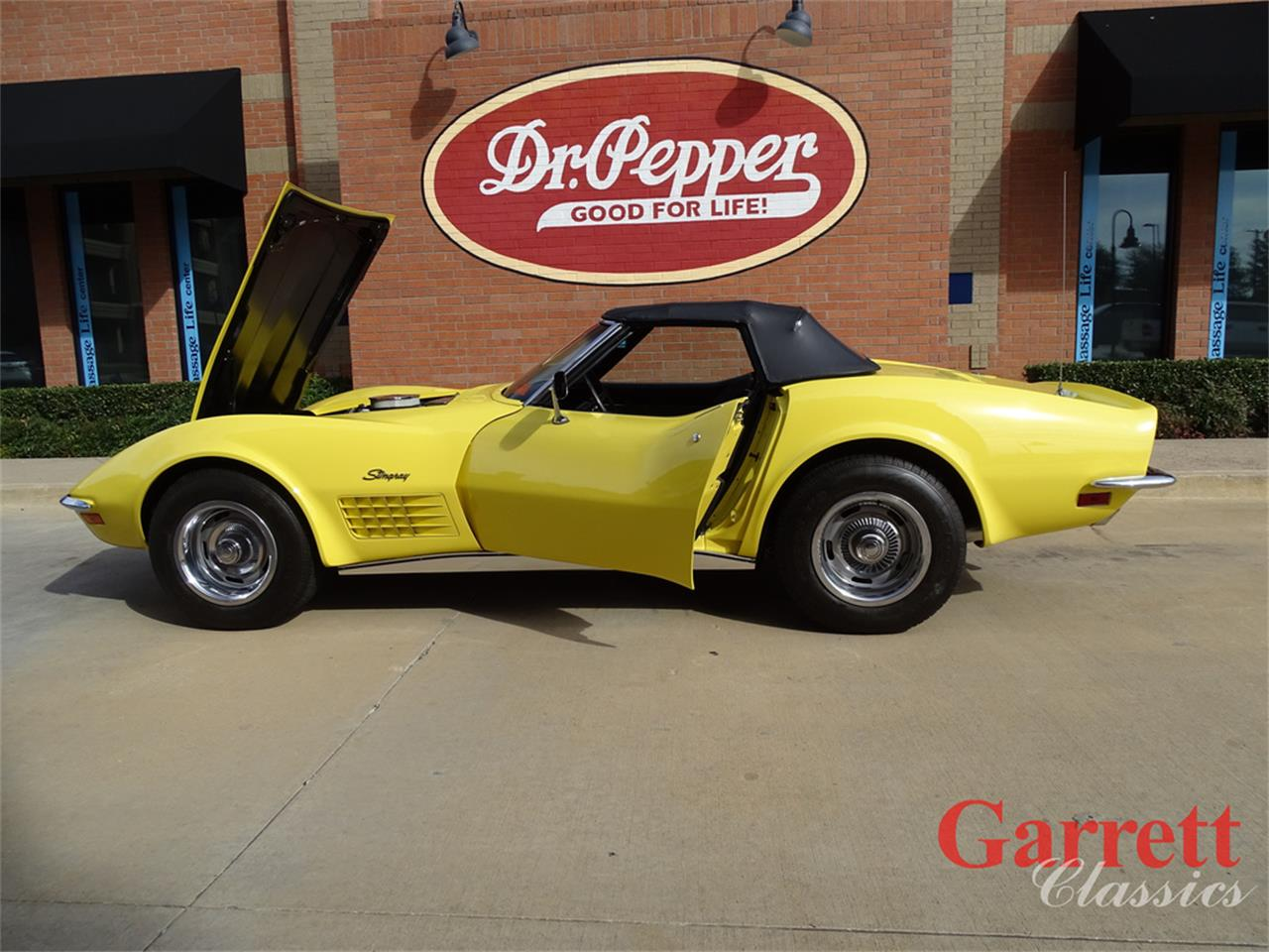 Large Picture of '70 Chevrolet Corvette located in Texas - $58,000.00 Offered by Garrett Classics - PJTL