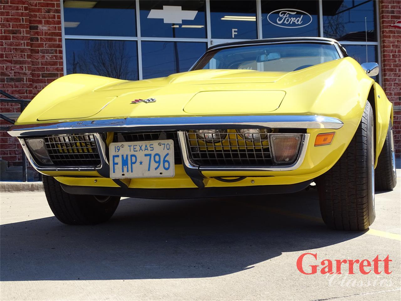 Large Picture of Classic '70 Chevrolet Corvette - $58,000.00 Offered by Garrett Classics - PJTL