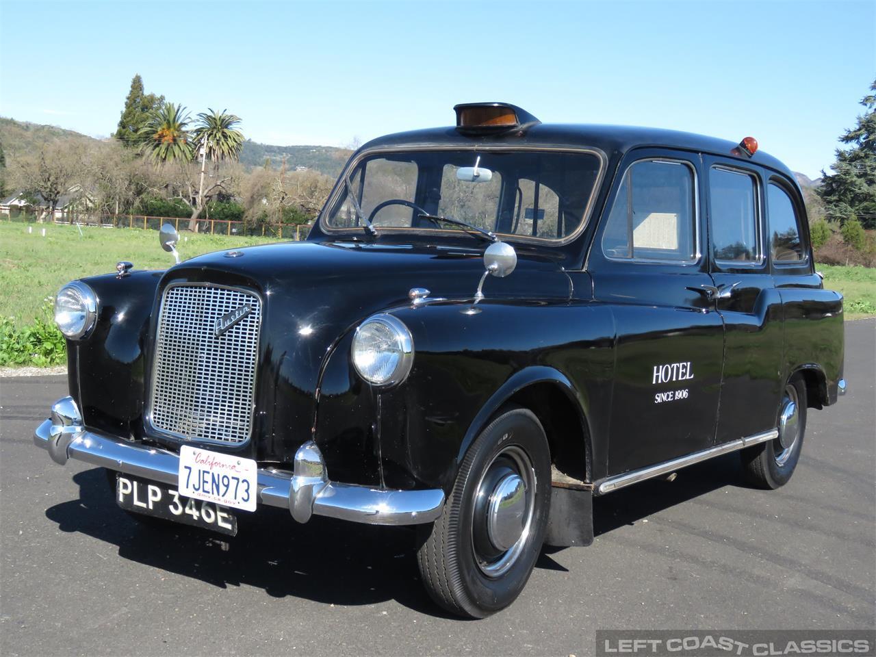 Large Picture of '67 Austin FX4 Taxi Cab located in SONOMA California - PKBX