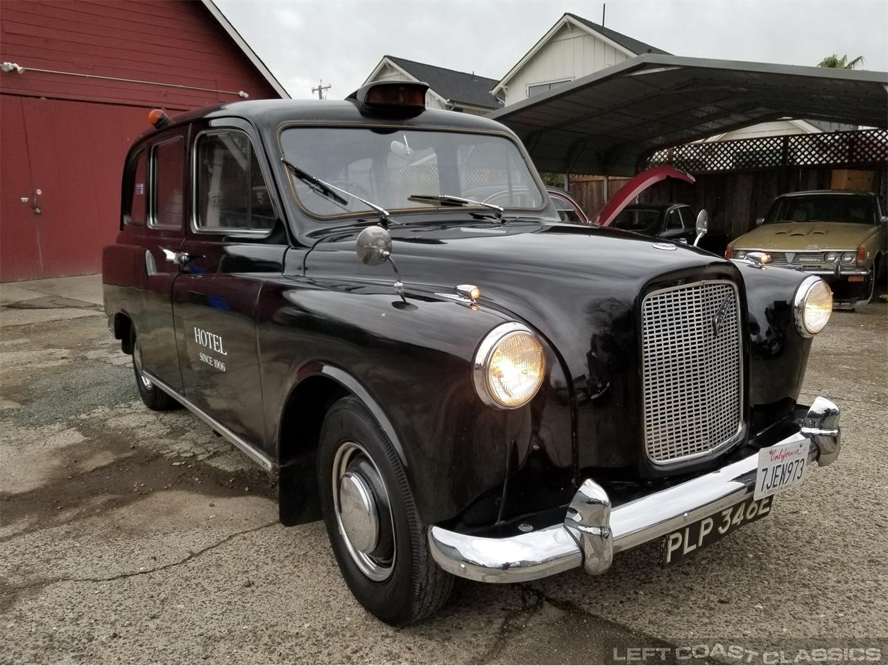 Large Picture of 1967 FX4 Taxi Cab located in SONOMA California - $12,500.00 Offered by Left Coast Classics - PKBX