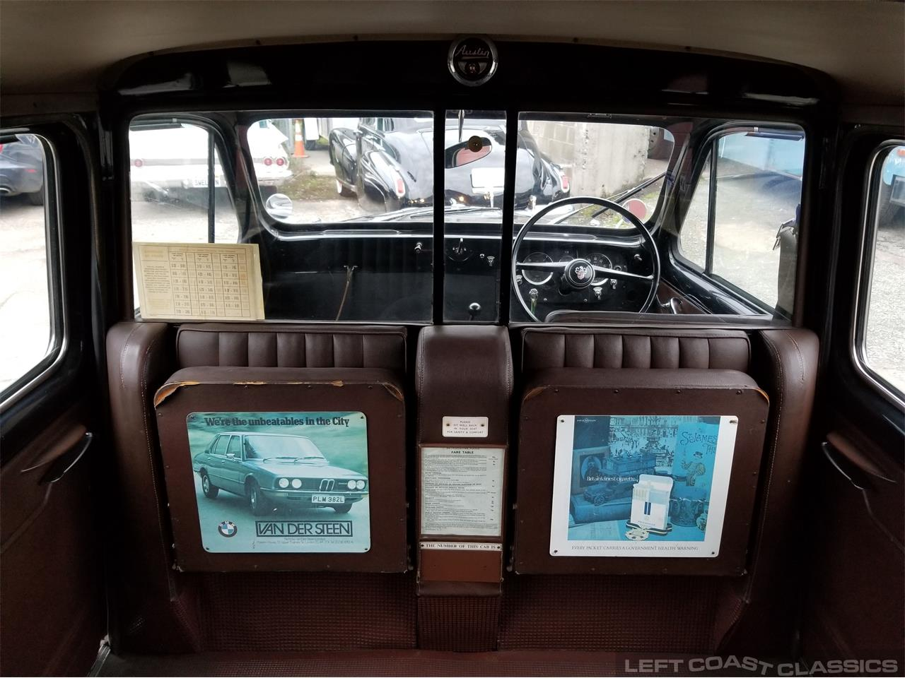 Large Picture of Classic 1967 FX4 Taxi Cab located in California Offered by Left Coast Classics - PKBX