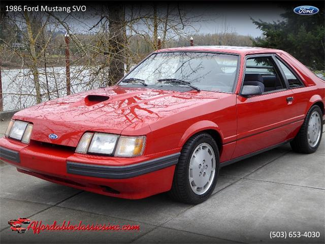 Picture of '86 Ford Mustang SVO located in Gladstone Oregon - $11,500.00 - PKFH